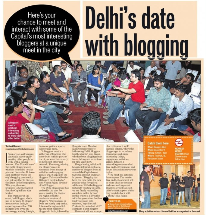 Delhi Bloggers