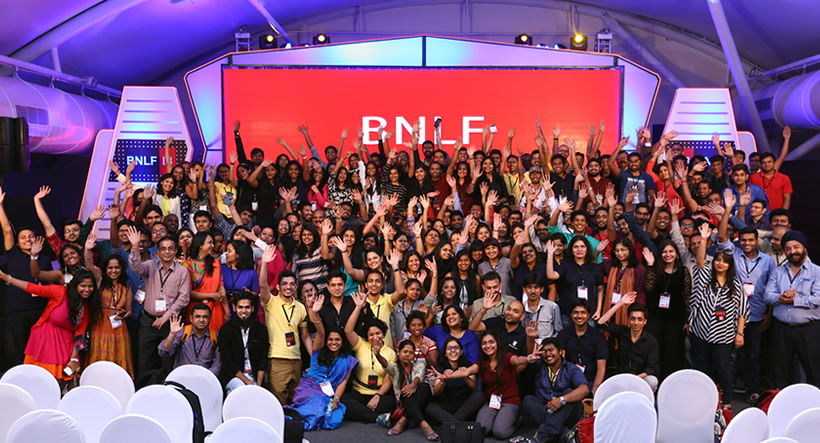 Indian Blogger Community at BNLF